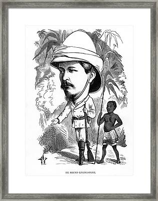 Sir Henry Morton Stanley Framed Print by Granger