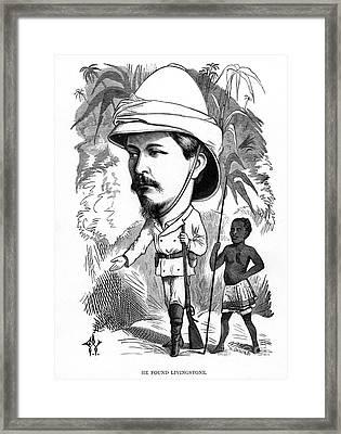 Sir Henry Morton Stanley Framed Print
