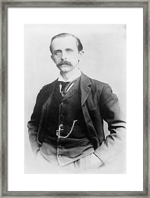 Sir James Barrie 1860-1937, Created Framed Print by Everett