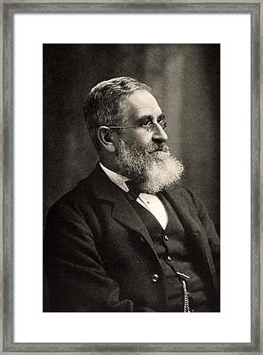 Sir John Evans Circa 1895 Framed Print by Paul D Stewart