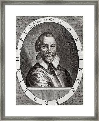Sir Martin Frobisher, English Explorer Framed Print