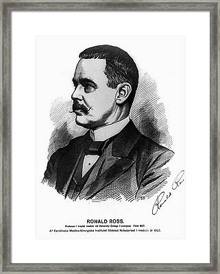 Sir Ronald Ross (1857-1932) Framed Print by Granger