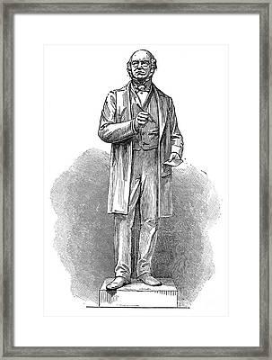 Sir Rowland Hill (1795-1879) Framed Print by Granger