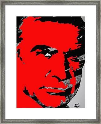 Sir Sean Connery Framed Print by Robert Margetts