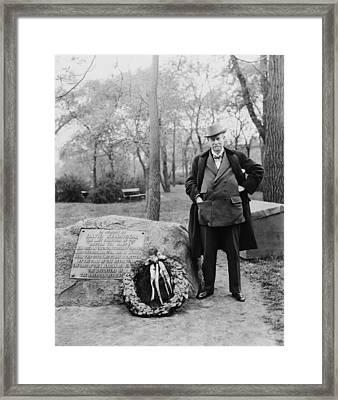 Sir Thomas J. Lipton, 1848-1931 Framed Print by Everett