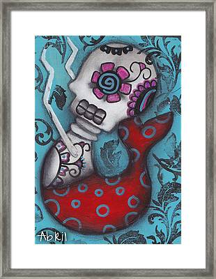 Sirena Monica Framed Print by  Abril Andrade Griffith