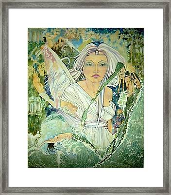 Sister Angel Framed Print