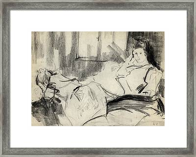 Sisters Framed Print by Ethel Vrana