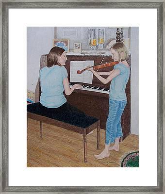 Sisters Framed Print by Karen Brannon