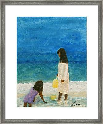 Sisters Framed Print by Maureen House
