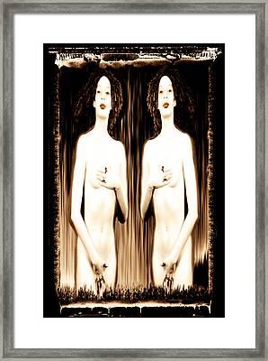 Sisters Of Silence Framed Print