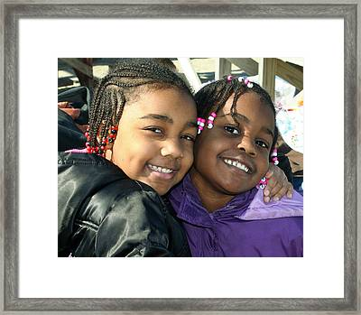 Sisters Framed Print by Theresa Johnson