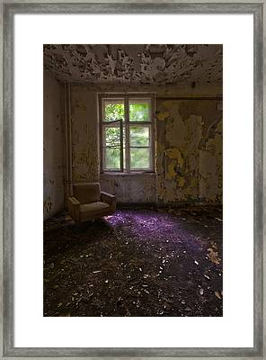 Sitting Alone Framed Print by Nathan Wright