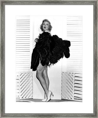 Sitting Pretty, Ginger Rogers, 1933 Framed Print by Everett
