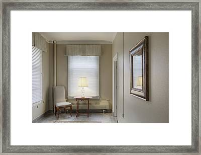 Sitting Room Coat Room Or Ante Room Framed Print