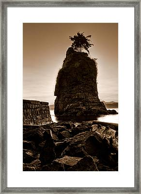 Siwash Framed Print by Matt  Trimble