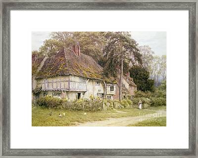 Six Bells Hollingbourne Kent  Framed Print by Helen Allingham