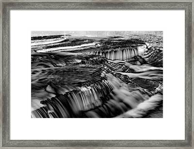 Six Fingers Falls Framed Print