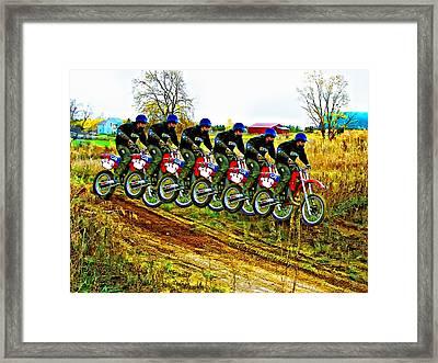 Six Pack Framed Print by Steve Harrington