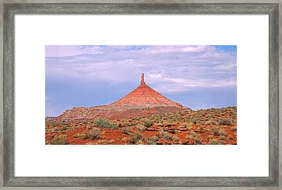 Six-shooter South Framed Print