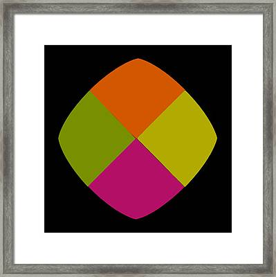 Framed Print featuring the photograph Six Squared Blowout by Steve Purnell