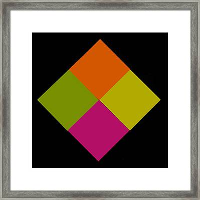 Framed Print featuring the photograph Six Squared by Steve Purnell