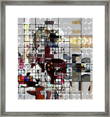 Six String Seduction Framed Print