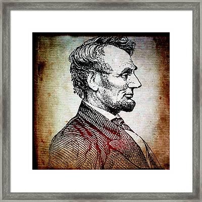 Sixteenth President Framed Print
