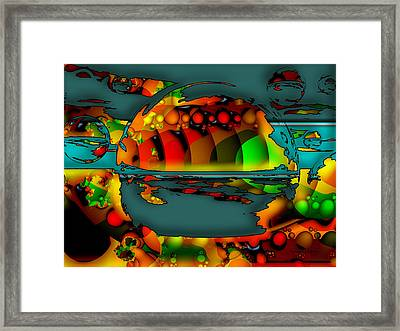 Sixty Eight Framed Print by Robert Orinski