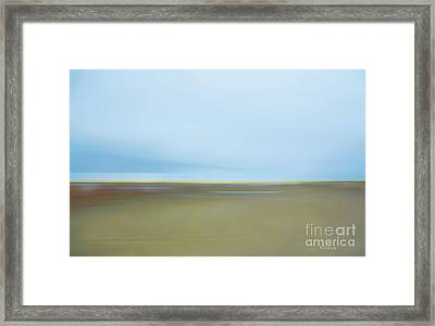 Framed Print featuring the photograph Skaket Tidal Flats by David Klaboe