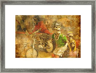 Skeleton Crew Framed Print