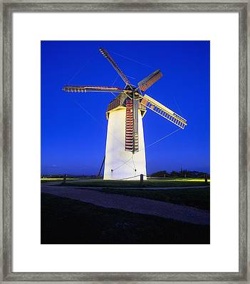 Skerries Mills Co Fingal, Ireland Framed Print by The Irish Image Collection