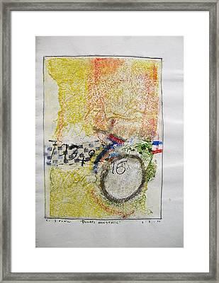 Sketchbook 1  Pg 38 Framed Print by Cliff Spohn