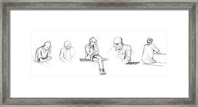 Sketchbook Framed Print