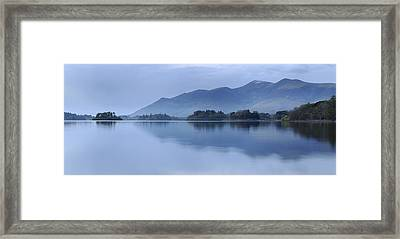 Skiddaw Range, Lake District Framed Print by Stephen Spraggon