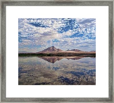 Framed Print featuring the photograph Skies Illusion by Tammy Espino
