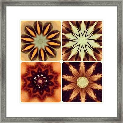 #skin #mandala #tattoo #love #flower Framed Print