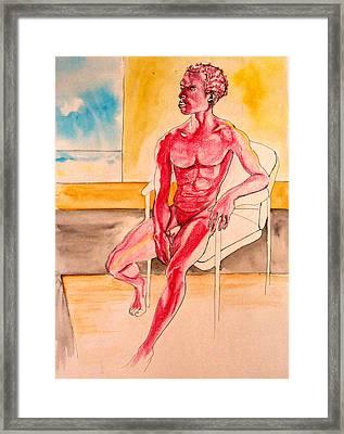 Skinless Framed Print