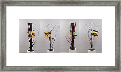 Skinny And Rich Formula 2 Framed Print by Mac Worthington