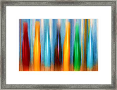 Skittles Framed Print by Margaret Hormann Bfa