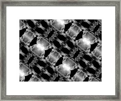 Skull Scope 7 Framed Print by Adam Vance