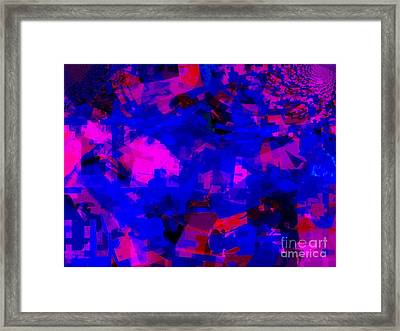 Sky Abstract  Framed Print by Fania Simon