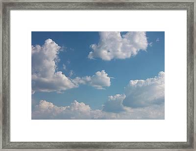 Sky Framed Print by Alexa Alexandru-Michael