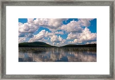 Sky At Fawn Lake Framed Print