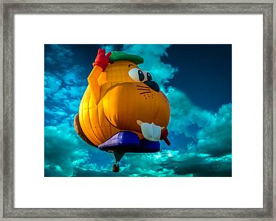 Sky Beaver Framed Print by Bob Orsillo
