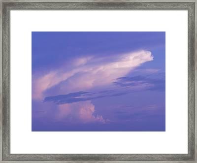 Sky Framed Print by Debra Webb