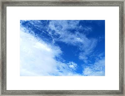 SKY Framed Print by Denis Shah