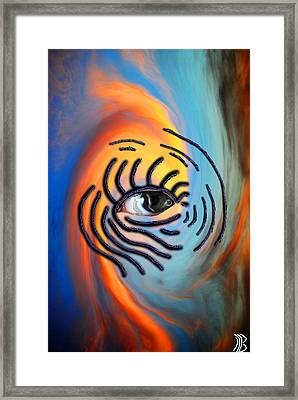 Sky Eyes Framed Print by William Beasley