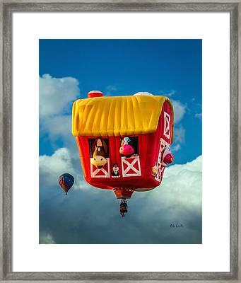 Sky Farming  Framed Print by Bob Orsillo