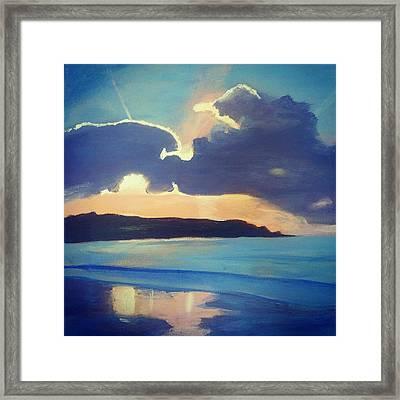 Sky Framed Print by Kimi Arts